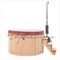 Buy cheap 5 Person 1500*900MM Spa Hot Tub 100% Clear Grade A western red cedar product