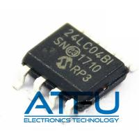 Buy cheap 24LC04BT-I/SN Flash Memory Module 4kbit I2C Serial EEPROM 400 KHz Clock Frequency product