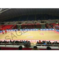 Buy cheap Basketball Stadium Perimeter Led Display Screen 6mm High Definition Aluminum Cabinet product