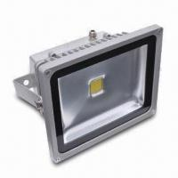 Buy cheap Flood Light with 4,000lm Luminous Flux, 50W Power, and 86% Power Capacity product