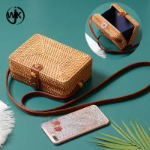 Buy cheap newest top sale bag summer straw bag vietnam bags women ratten summer bag product