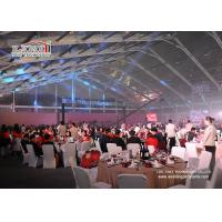 Buy cheap 1000 Seater Aluminum Transparent Roof Wedding Marquee Tent With White Color Decoration For Sale product