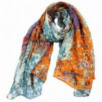 Buy cheap 2013 Fashion Polyester Scarf, Customized Designs and Shapes are Accepted  product