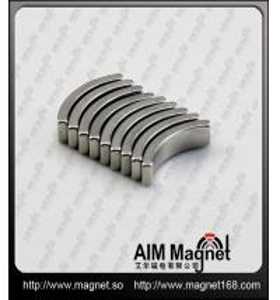 Strong 12mm neodymium arc magnets