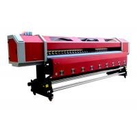 Buy cheap Outdoor 3.2M Double Heads Eco-solvent Printing Machine For PP , Vinyl , Canvas product