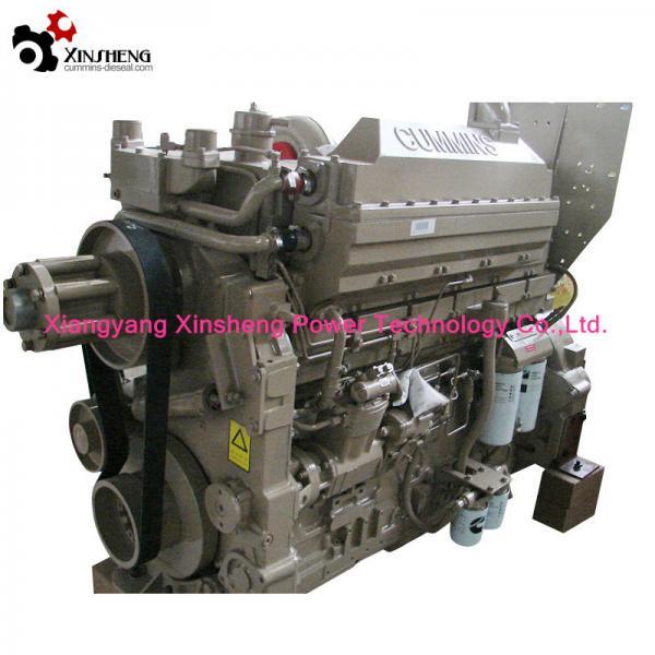 Quality 4 Stroke KTA19-C600 448 KW 2100 RPM Diesel Engine Construction Machinery CCEC Cummins for sale
