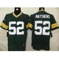 Buy cheap Nike Green Bay Packers 52 Matthews Authentic Elite Jersey product