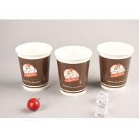 Buy cheap Eco Friendly 16oz Cold Paper Cups Iced Recyclable Coffee Cups For Shop / Office product