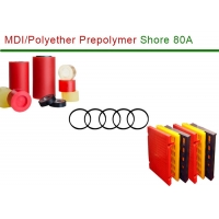 Buy cheap Shore A80 Odorless MDI Polyether Polyurethane from wholesalers