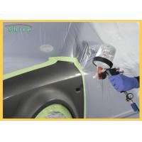 China Pre - Taped Multi - Folded Car Paint Masking Film With Auto Masking Tape on sale