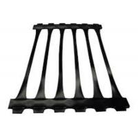 Buy cheap PP High Tensile Uniaxial Geogrid / 170KNM Geogrid for Road Construction product