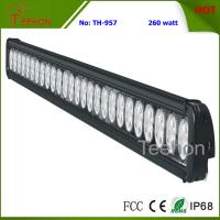 Buy cheap 260W 43 Inch Single-Row LED Light Bar for Commercial Vehicles product