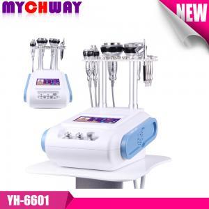 Buy cheap Comfortable and Warm Unoisetion+Sexutpolar Rf Vacuum+Bipolar +Quadrupole +Dermabrasion+Spray+Photon product