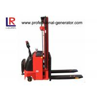 China Hydraulic Fork Lift Type 4.5m Height Electric Pallet Stacker Stepless Speed Change Battery on sale