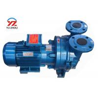 China 220v Single Phrase Gear Oil Transfer Pump , Electric Motor Water Ring Vaccum Pump on sale
