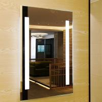 Buy cheap Smart Touch Sensor Switch Led Bathroom Wall Mirror Fogless Shower Mirror product