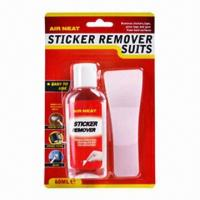 Buy cheap Sticker remover with wipe surface clean, apply directly onto label product