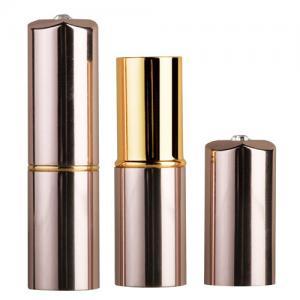 square lipstick case, aluminium lipstick container,lipstick tube,metal lipstick package