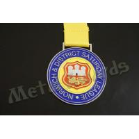 Buy cheap Europe Design Custom Sports Medals Customized Medallion With Lion Logo product