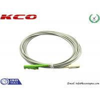 Buy cheap Rodent-resistant E2000 to SC simplex armored fiber optic patch cables armoured cord jumper product