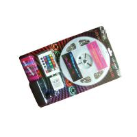 Buy cheap SMD 5050 RGB LED Tape Light Kit , Color Changing Led Light Strips Blistered Packing product