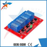 Buy cheap Demo Code 4-channel Arduino Relay Module , 5V / 12V Relay Control Module product