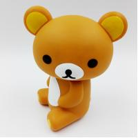 China Custom Lovely Bear Rubber PVC Toys ,PVC Vinyl Action Figures , Eco-friendly For Home Decoration, Accept OEM on sale