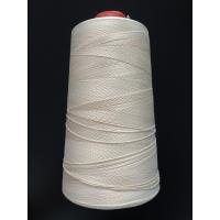 Buy cheap White Color Fiberglass Insulation Flame Retardant Thread For Sewing 0.2mm Thickness product