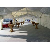 Buy cheap High Peak Lining Style Aluminum Frame Water Resistant Tent Structure For Wedding Receptions from Wholesalers