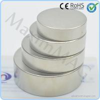China Big round neodymium magnets on sale