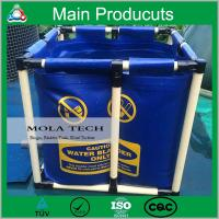 Buy cheap 2015 New products steel structure plastic fish farming tank with customised size product