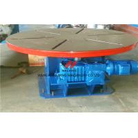 Buy cheap Welding Turning Table Pipe Welding Positioners For Heavy Duty Loading , Turning / Revolve Table product