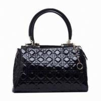 Buy cheap Stylish Female Handmade Leather Handbags For Autumn , Top-zip Clutch Bag product