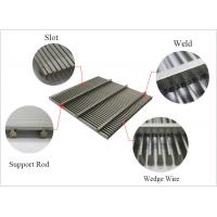 Buy cheap Johnson wedge wire screen panel product