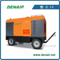 Buy cheap portable screw diesel air compressor product