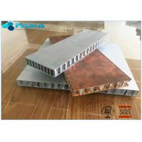Buy cheap Long Duration Aluminum Honeycomb Panels , Honeycomb Material Customized Size product