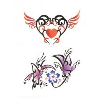 Buy cheap OEM/ODM flower glitter body transfer tattoos stickers product
