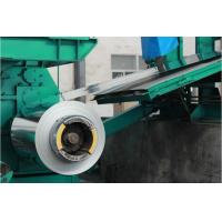 Buy cheap Color Coated Carbon Steel Coil SGCC / CGCC , 0.12m - 3.0mm Soft / Full Hard product