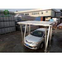 Buy cheap PV Carport Solar Mounting Systems  Aluminum Structure Solar Bracket  High Recyclable Value Lower Waste Disposal Costs product