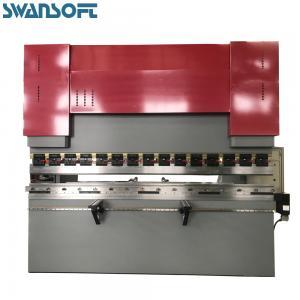 SWANSOFT High Quality Digital Hydraulic Press Brake WC67Y 200T 2500mm for Aluminum Steel Plate Bending
