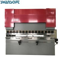 Quality High precision 125T2500 ball screw stainless steel Plate NC 2 axis hydraulic press brake Metal Plate Bending Machine for sale