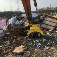 China excavator mounted vibrating plate compactor /High efficiency machine on sale