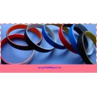 China medical alerts silicone bracelets on sale