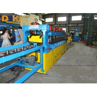 Buy cheap Chain Drive 12m/Min 45# Door Frame Roll Forming Machine product