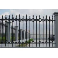 Buy cheap Antique Cast Iron Fence Panels / Pedestrian Safety Barrier Fence For Villa Home product