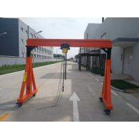 China A Frame Type Mobile Jib Crane Huge Lifting High Efficiency Easy Operation on sale