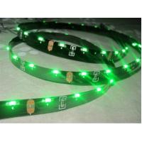 China IP20 4.8W per Meter Green Flexible RGB Led Strip SMD 335 Side Emitting 1500lm - 1800lm on sale