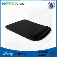 China Black Blank Heat Sublimation Wrist Rest Mouse Pad For Advertising / Gamer on sale