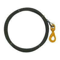 Buy cheap Heavy - Duty Hook Rope Winch Line Long Service Life Durable With Self Closing Latch product