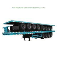 4 Tri Axle Container Chassis Semi Trailer for Container 60 Ton